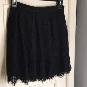 Dresses & Skirts - New black lace skirt